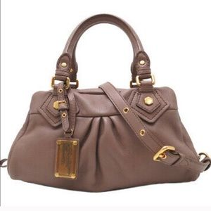 Marc Jacobs Taupe Classic Q Groovee Purse